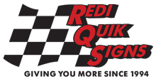 Redi Quik Signs Columbus Ohio Promotional Signs Business Office Logo Design and Installation