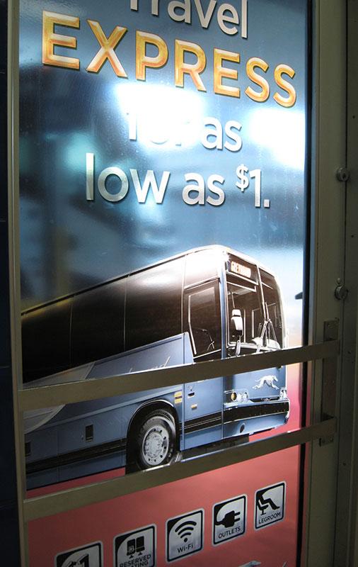 Travel Express Door Sign