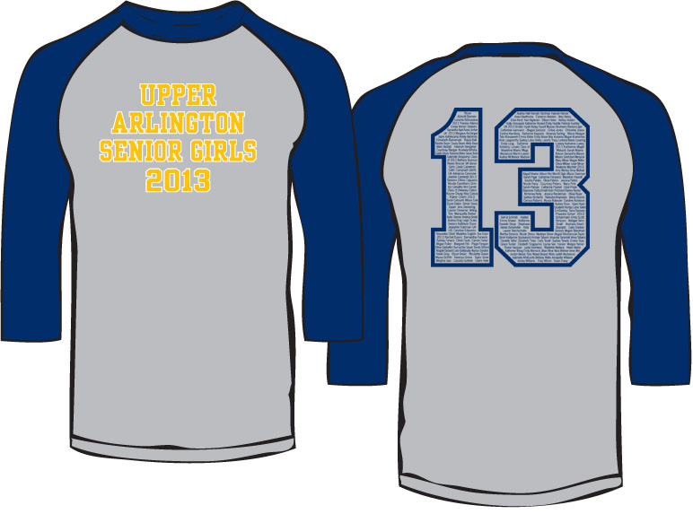 upper arlington senior girls baseball shirt design ideas - Baseball T Shirt Designs Ideas