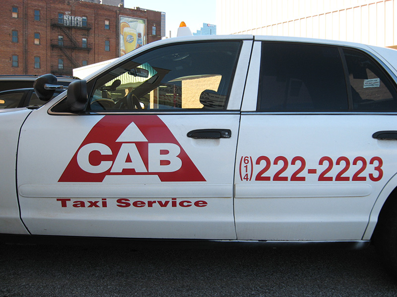 A Cab Vehicle Graphics