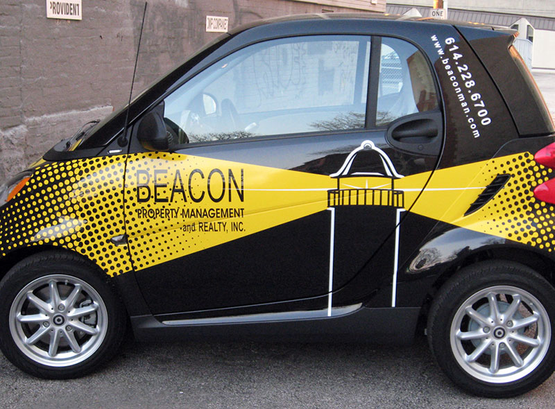 Beacon Smart Car Graphics