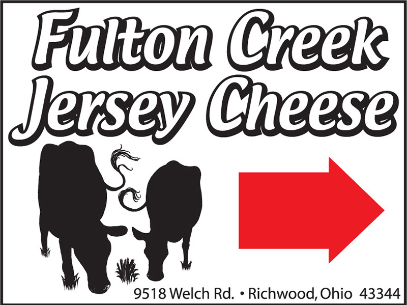 Fulton Creek Yard Sign