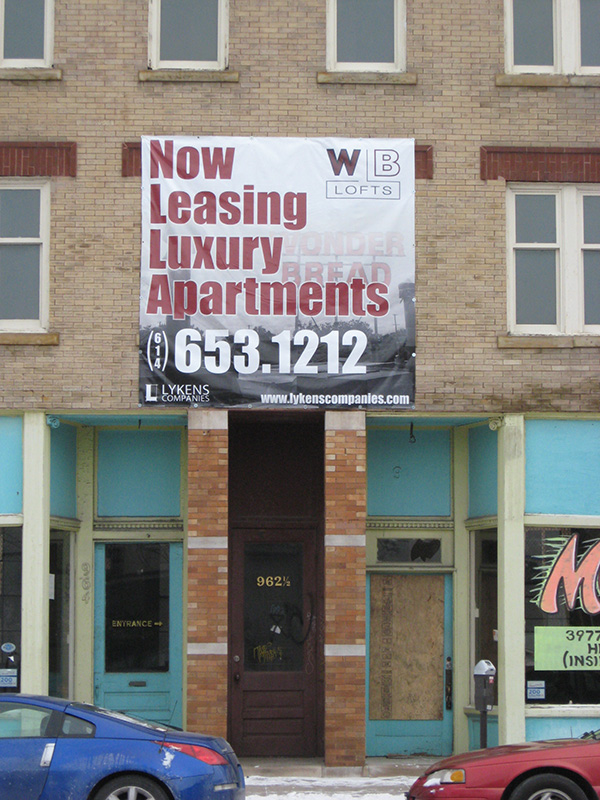 WB Lofts Banner