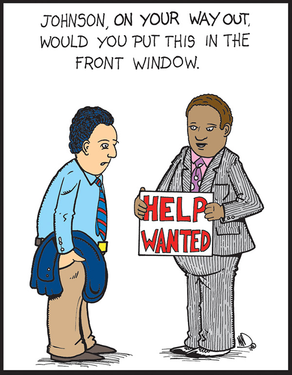 Help wanted…