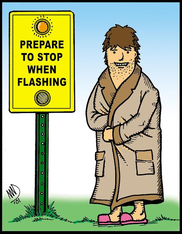 Prepare to stop…
