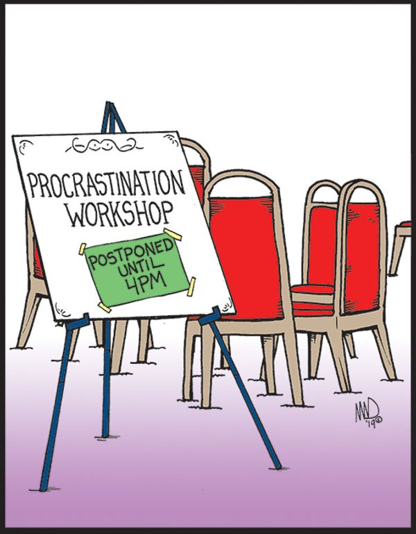 Procrastination Workshop…