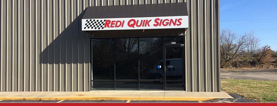 Redi-Quik Signs
